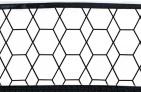Briljant Laken Grid Black/White 75 x 100 cm