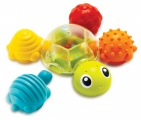 Infantino Snap & Play Bath Turtle
