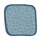 Babylook Monddoek Bears Faded Denim