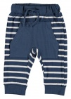 Babylook Broek Stripes Dark Denim