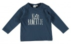 Babylook T-Shirt Broertje Dark Denim