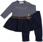 Dirkje 2-Delige Set Dress Copper Navy