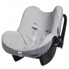 Baby's Only Hoes Autostoel Sparkle Zilvergrijs Mêlee