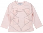 Dirkje T-Shirt Bow Light Pink