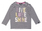 Beebielove T-Shirt Stripe Anthracite