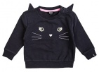 Beebielove Trui Cat Anthracite