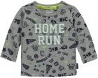 Quapi T-Shirt Mads Grey Melee Collage