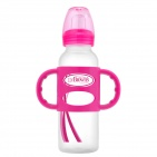 Dr. Brown's Handgreepfles Pink 250ml