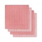 Jollein Luier Hydrofiel Duo Coral Pink 4Pack