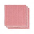 Jollein Monddoek Hydrofiel Duo Coral Pink 3Pack