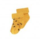 Noppies Sokjes 2-Pack Levi Stars Honey Yellow
