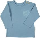 Little Dutch T-Shirt Pocket Blue