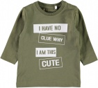 Name It T-Shirt Napin Burnt Olive