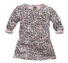 Z8 Jurk Namina Leopard Soft Pink