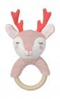 Tiamo Dreamy Deer Rammelaar Houten Ring