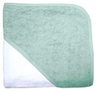 BD Collection Babycape Wit / Mist Green