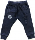 Born To Be Famous Broek Navy