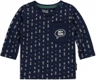 Quapi T-Shirt Zacharia Dark Blue Arrow