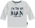 Quapi T-Shirt Zack Man White