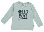 Babylook T-Shirt Hello Mint