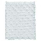 Cottonbaby Ledikantdeken Dot 3D Melee Lichtblauw120 x 150 cm