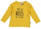 Babylook T-Shirt Boss Ocre
