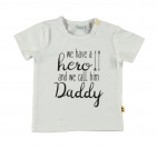 Babylook T-Shirt Korte Mouw We Have A Hero