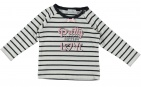 Babylook T-Shirt Love Stripe