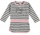 Babylook Jurk Love Stripe
