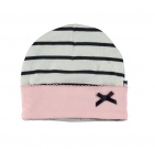 Babylook Muts Bow Stripe