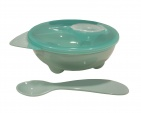 BD Collection Yummy Bowl + Spoon Green