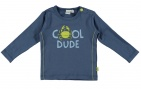 Babylook T-Shirt Dude Faded Denim