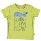 Babylook T-Shirt Korte Mouw Flow Wild Lime
