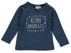 Babylook T-Shirt Broertje Dark Denim