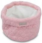 Jollein Verzorgingsmand Fancy Knit Blush Pink