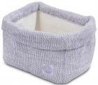 Jollein Verzorgingsmand Melange Knit Soft Lilac