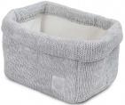 Jollein Verzorgingsmand Melange Knit Soft Grey