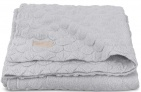 Jollein Deken Fancy Knit Soft Grey 100 x 150 cm