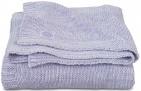 Jollein Deken Melange Knit Soft Lilac      100 x 150 cm