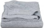 Jollein Deken Melange Knit Soft Grey      100 x 150 cm