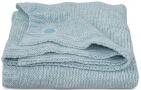 Jollein Deken Melange Knit Soft Green   100 x 150 cm
