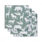 Hydrofiele Luiers (4 stuks)  Safari Forest Green