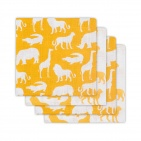 Hydrofiele Luiers (4 stuks)  Safari Ocher