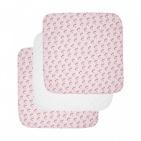 Luma Hydrofiele Luiers Racoon Pink (3 stuks)