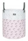 Luma Toy Basket Large Racoon Pink