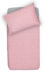 Little Lemonade Dekbedovertrek Dots Pink 100 x 140 cm