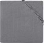Little Lemonade Hoeslaken Boxmatras Jersey Dark Grey 75 x 95 cm