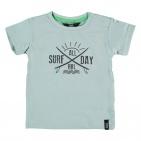 Beebielove T-Shirt Korte Mouw Surf Blue