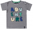 Beebielove T-Shirt Korte Mouw Adventure Stripes