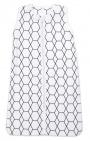 Briljant Slaapzak Zomer Grid Wit/Zwart 90cm